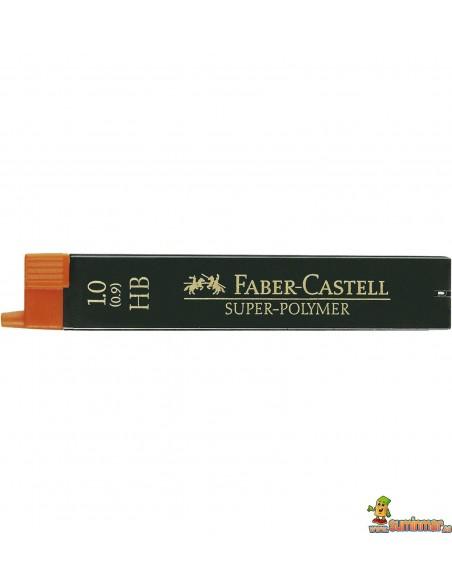 Minas Faber Castell 0.9 / 1mm 12ud