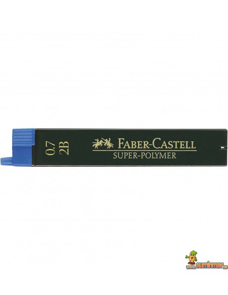 Minas Faber Castell 0.7mm 12ud