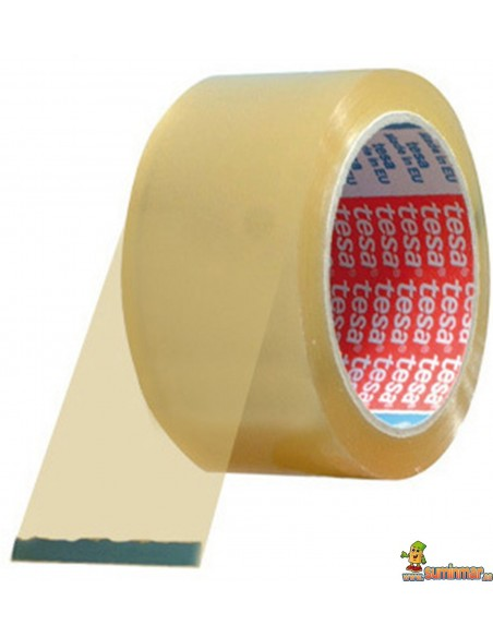 Cinta adhesiva embalaje transparente Tesa 50mm polipropileno