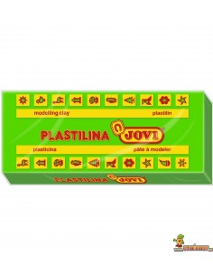 Plastilina Jovi 70 tamaño pequeño verde claro