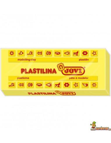 Plastilina Jovi 72 tamaño grande Amarillo claro