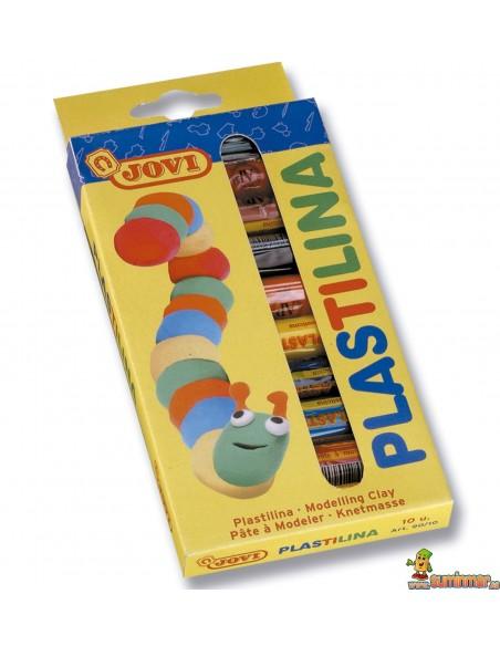 Plastilina en barra Jovi 10 colores