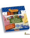 Ceras para niños JoviColor caja de 6 colores