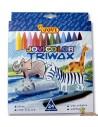 Ceras triangulares para niños JoviColor Triwax 24 colores