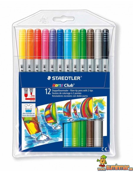 Rotulador Staedtler Noris club doble punta 320