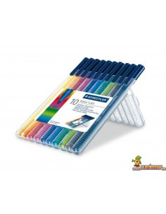 Staedtler Triplus Color Estuche de rotuladores 10 colores