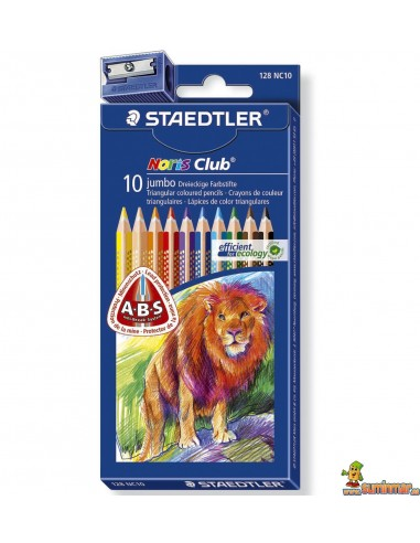 Staedtler Noris Club Jumbo Lápices de colores