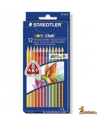 Staedtler Noris Club 12 Lápices de Colores