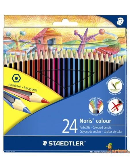 Staedtler Noris Colour Lápices de Colores WOPEX