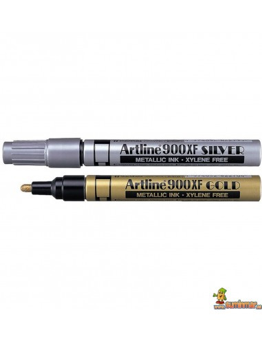 Artline 900XF Oro y Plata 2.3mm Rotulador permanente