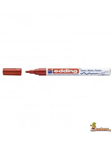 Edding 751 Marcador Permanente con Efecto lacado