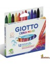 Ceras para niños Giotto Cera Maxi