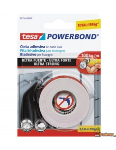 Cinta adhesiva de doble cara Tesa PowerBond Ultra Strong