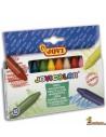 Ceras para niños JoviColor caja de 12 colores