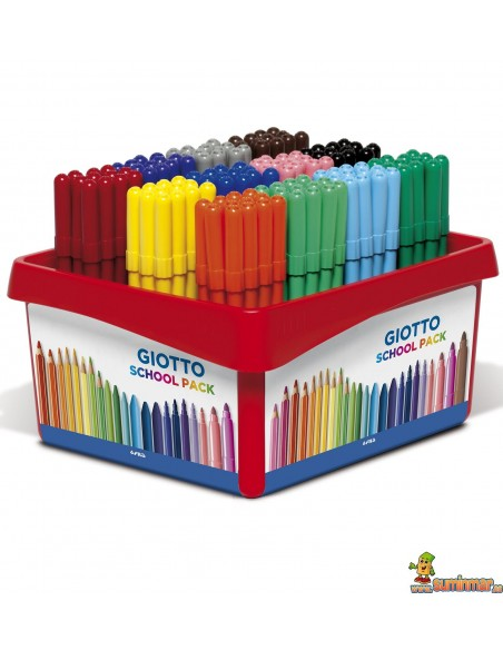 Giotto Turbo Color Schoolpack rotulador para clase