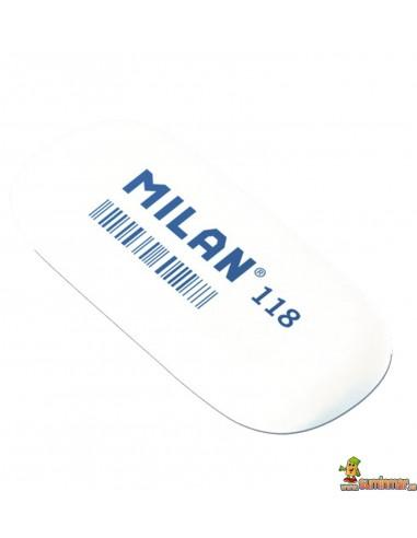 Goma de borrar Milan 118