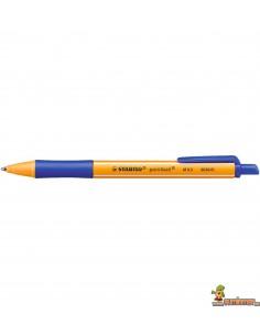 Stabilo Pointball 0.5 mm Bolígrafo ecológico Color Azul