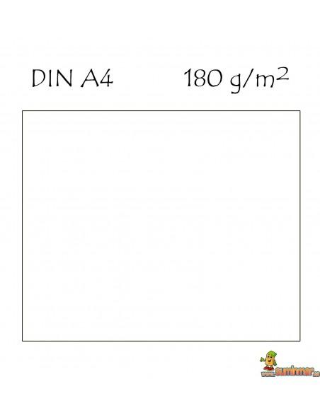 Cartulina A4 180g