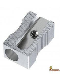 Sacapuntas metálico rectangular Mor 200
