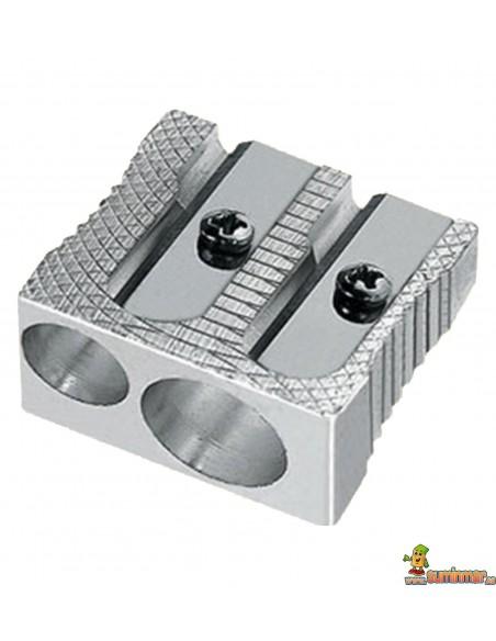 Sacapuntas metálico doble Mor 211