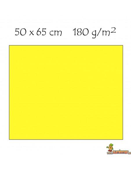 Cartulina 50x65 cm 180g