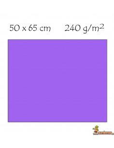 Cartulina 50 x 65 cm 240g/m² Violeta