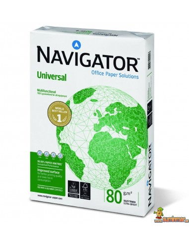 Navigator Universal 80g 500 hojas Papel Multifunción