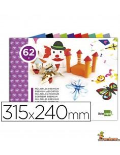 Bloc trabajos manuales múltiple 62 hojas 315 x 240mm