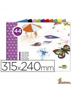 Bloc trabajos manuales múltiple 44 hojas 315x240mm