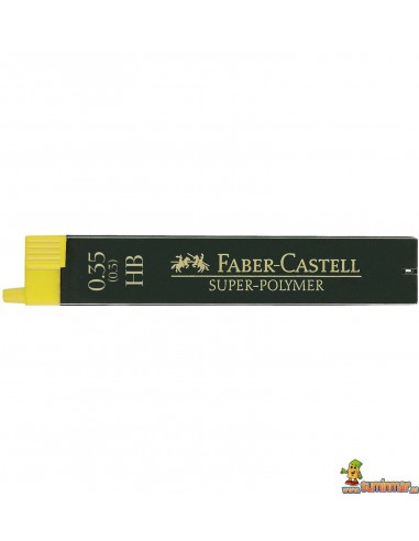 Minas Faber Castell 0.3mm HB 12ud