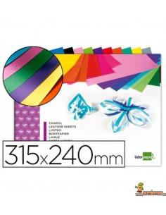 Bloc de papel charol 10 hojas 315 x 240mm