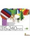 Bloc de cartón ondulado 10 hojas de colores surtidos