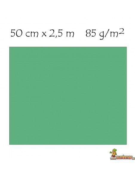 Papel crespón 85g/m2 pliego enrollado 50 x 250 cm