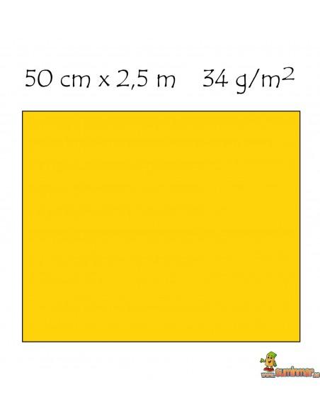 Papel Crespón 34g/m² Pliego de 50x250 cm