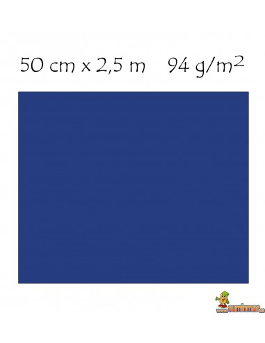 Papel Crespón Metalizado Pliego de 50cm x 2.5m