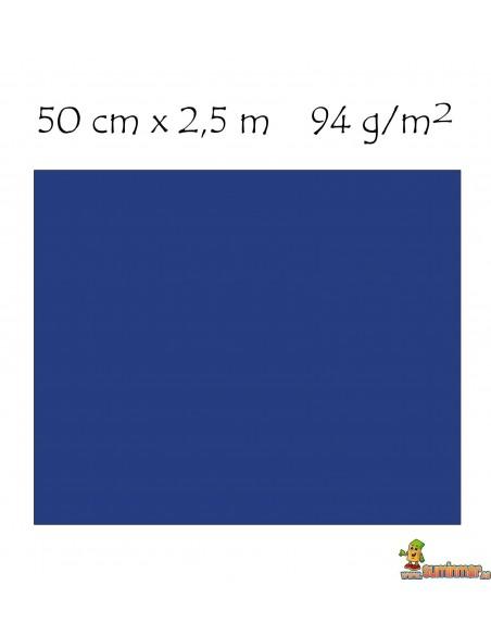 Papel crespón metalizado pliego 50 x 250 cm