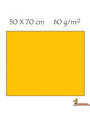 Goma EVA 50 x 70 cm Amarillo