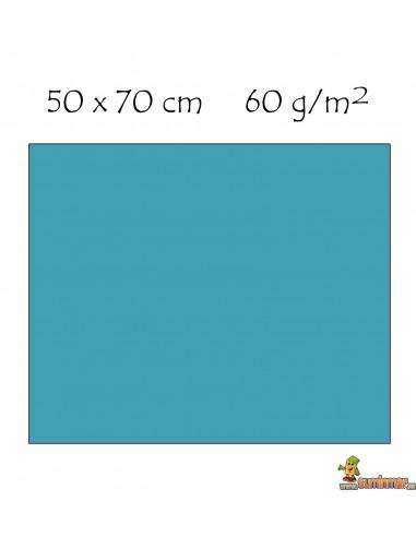 Goma EVA 50x70cm con purpurina Azul claro