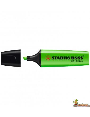 Subrayador Stabilo Boss Original 70/33 verde