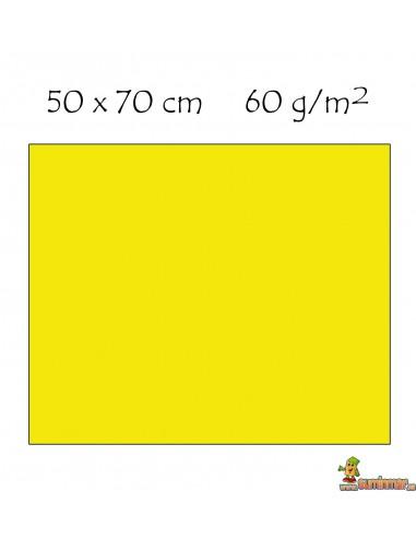 Goma EVA textura toalla 50 x 70 cm Amarillo