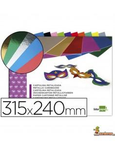 Bloc de cartulinas metalizadas 10 hojas 315x240mm