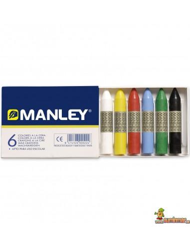 Ceras Manley 6 colores