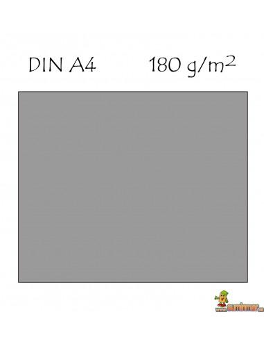 Cartulina DIN A4 Canson gris perla