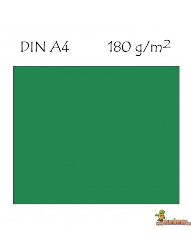 Cartulina DIN A4 Canson verde amazona