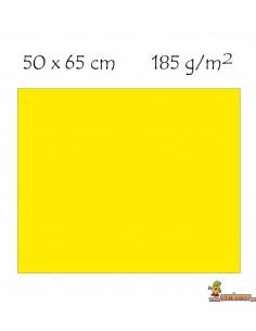 Cartulina 50 x 65 cm Canson Amarillo