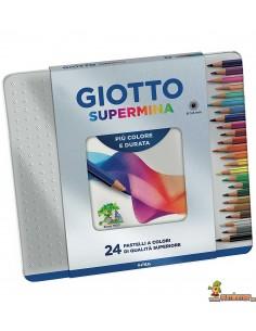 Giotto Supermina Lápices de colores Caja de 24