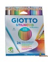 Giotto Stilnovo Lápices de colores acuarelables 24 colores