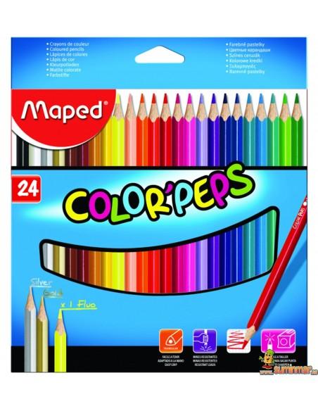 Lápices de colores Color Peps Maped triangulares