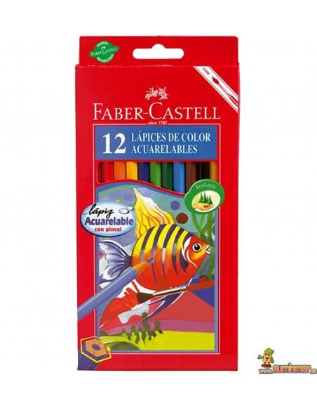 Lápices Acuarelables Faber Castell hexagonales