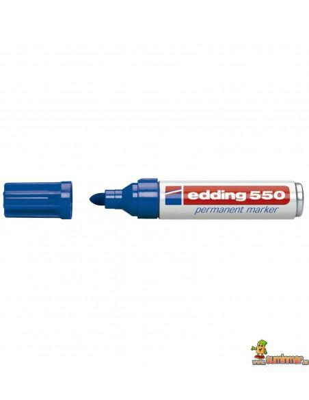 Edding 550 Marcador Permanente de punta redonda